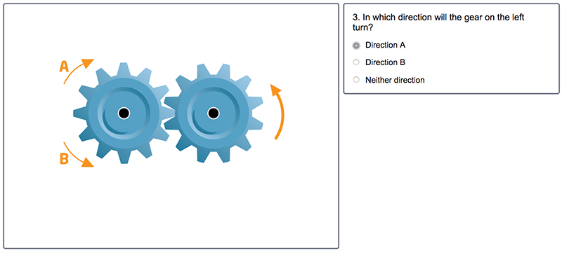 Example Mechanical Reasoning Test Question